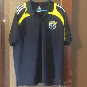 Adidas Climalite The Crew Soccer Polo shirt
